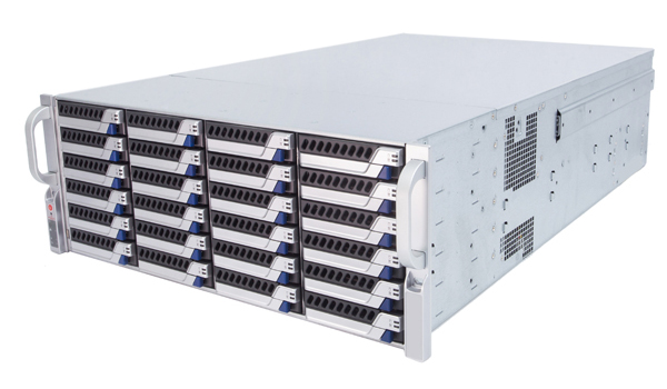 存储服务器买回来存储容量为什么会比标注参数小?【立尔讯】